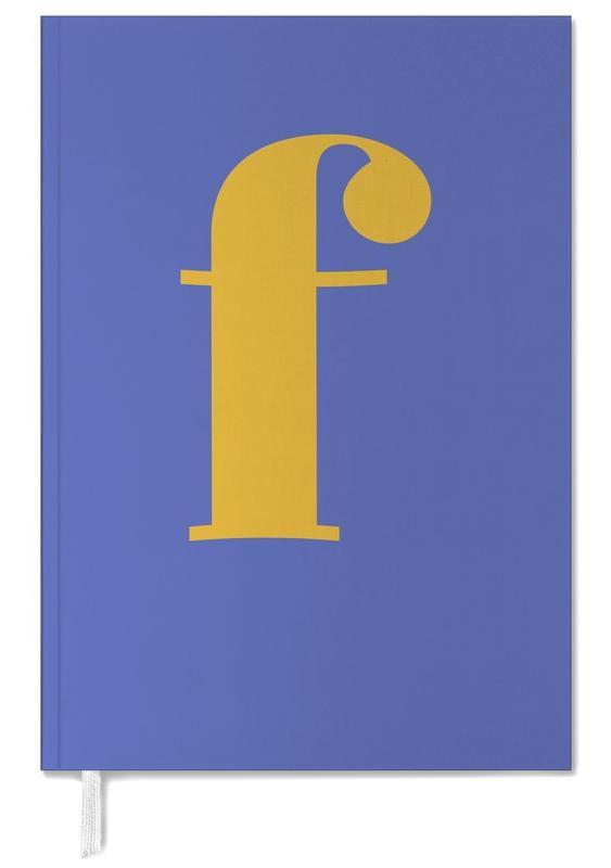 Blue Letter F agenda