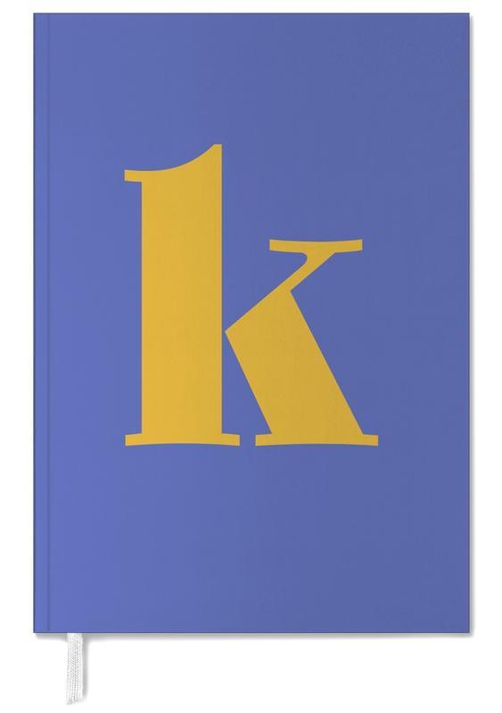 Blue Letter K -Terminplaner