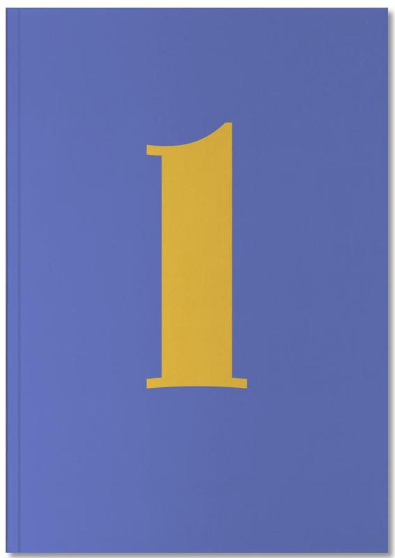 Blue Letter L Notebook