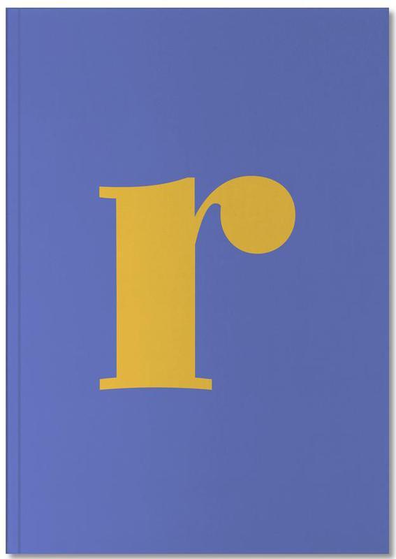 Alphabet & Letters, Blue Letter R Notebook