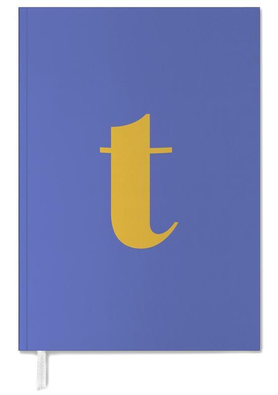Blue Letter T -Terminplaner