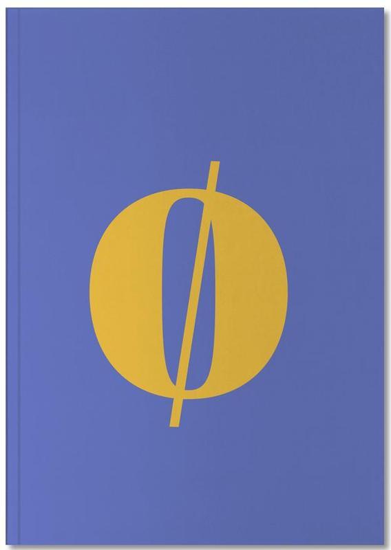 Blue Letter ø Notebook