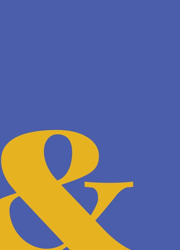 Blue Symbol & toile