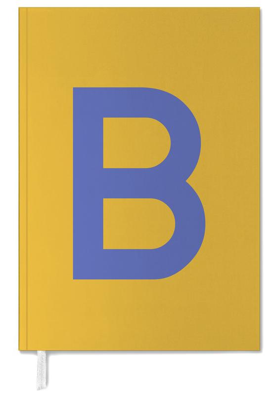 Yellow Letter B Personal Planner