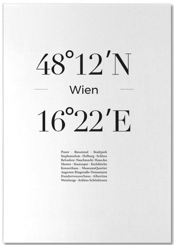 Noir & blanc, Vienne, Wien bloc-notes
