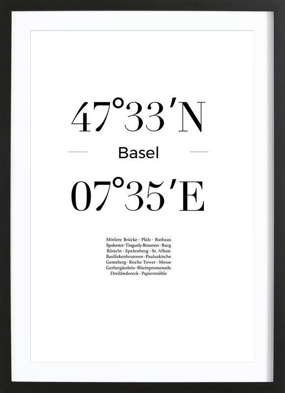 Basel Framed Print
