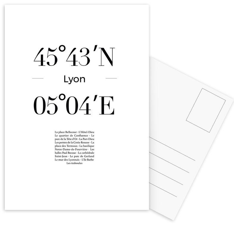 Lyon Postcard Set