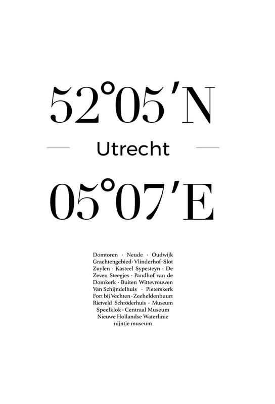 Utrecht alu dibond