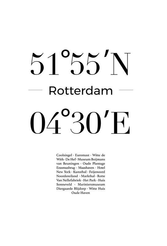 Rotterdam alu dibond
