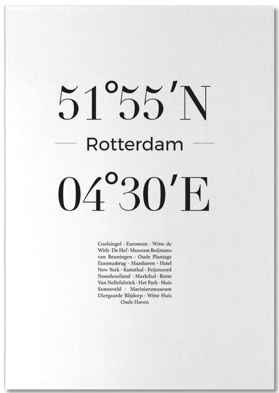 Noir & blanc, Rotterdam, Rotterdam bloc-notes