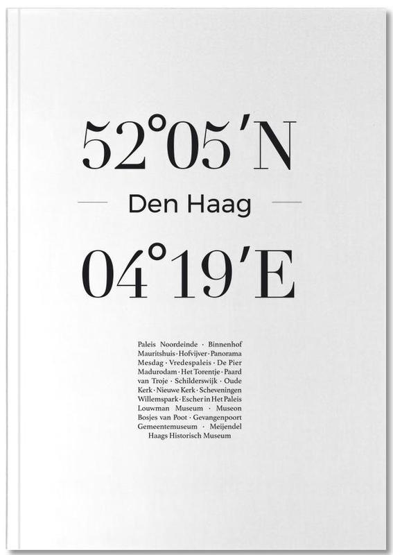 Zwart en wit, Londen, Den Haag Notebook