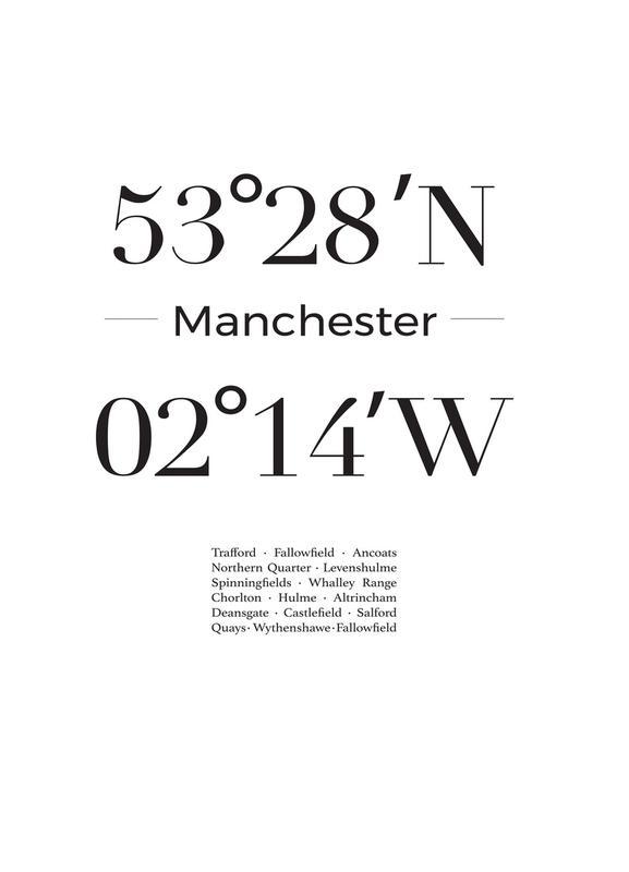 Manchester Canvastavla