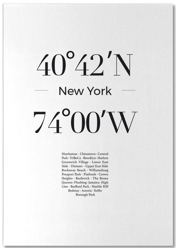 New York, Noir & blanc, New York bloc-notes