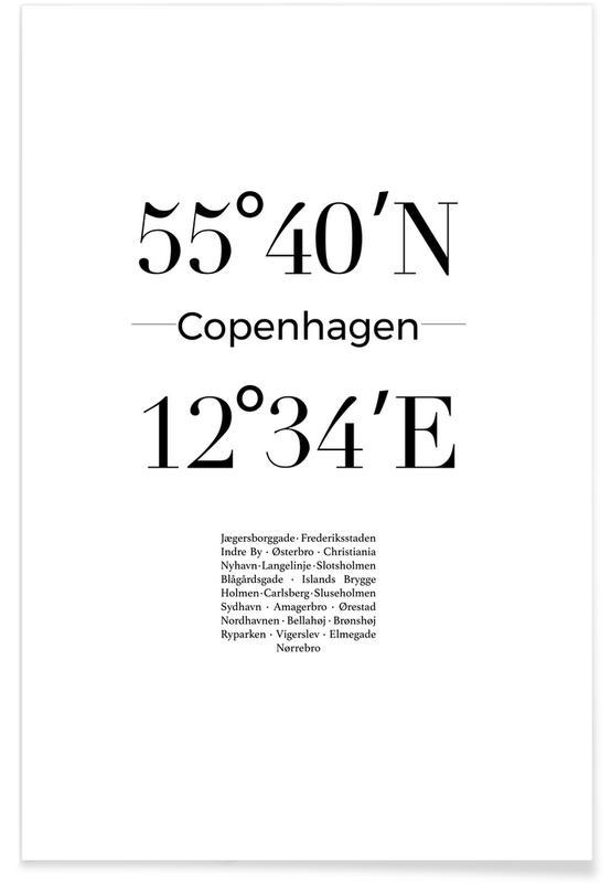 Copenhagen -Poster