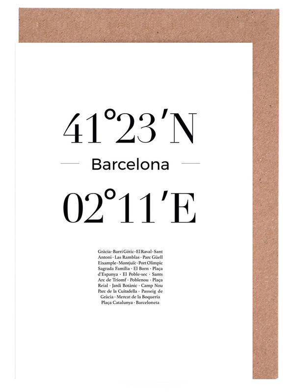 Barcelona cartes de vœux