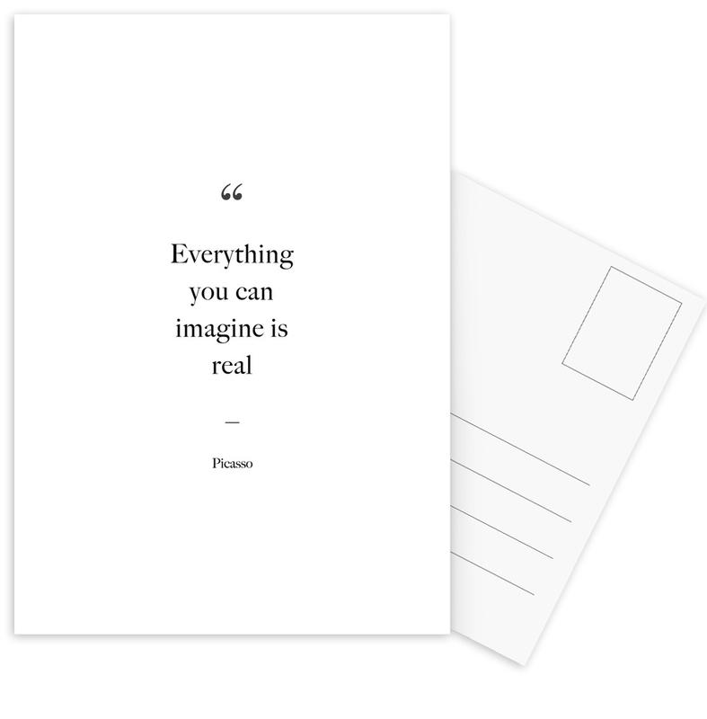 Everything You Can Imagine Is Real -Postkartenset