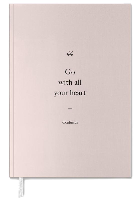 Go with All Your Heart Personal Planner
