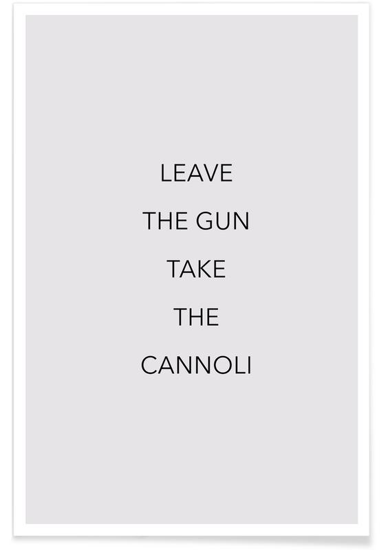Leave the Gun -Poster
