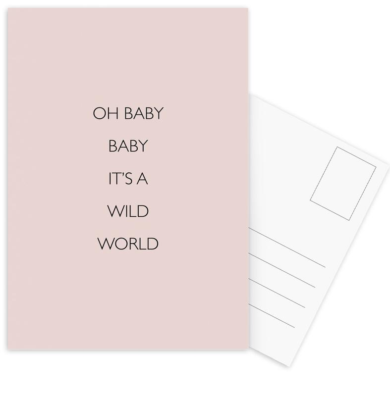 Oh Baby Baby It's a Wild World cartes postales