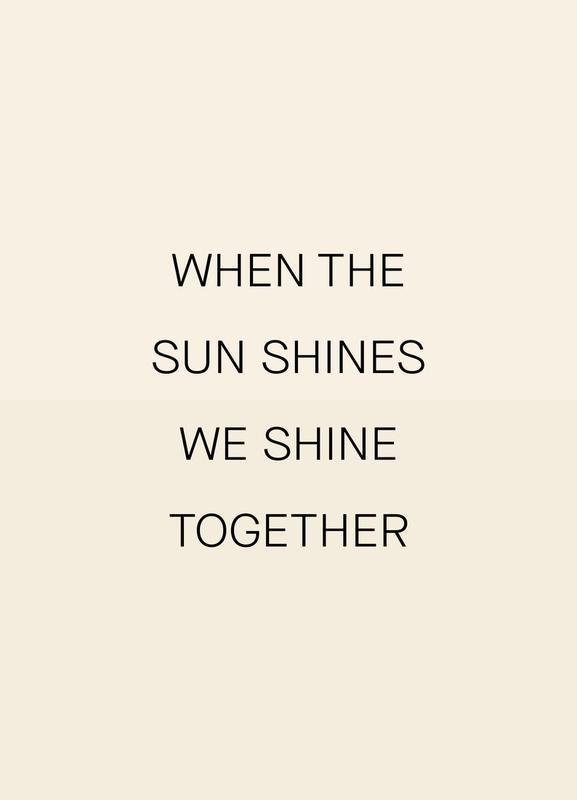 When the Sun Shines 02 Canvastavla