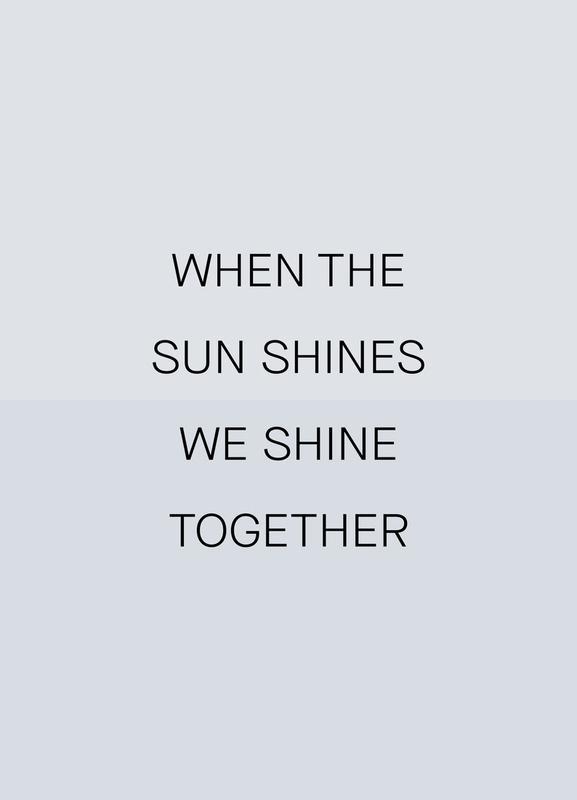 When the Sun Shines 03 Canvastavla