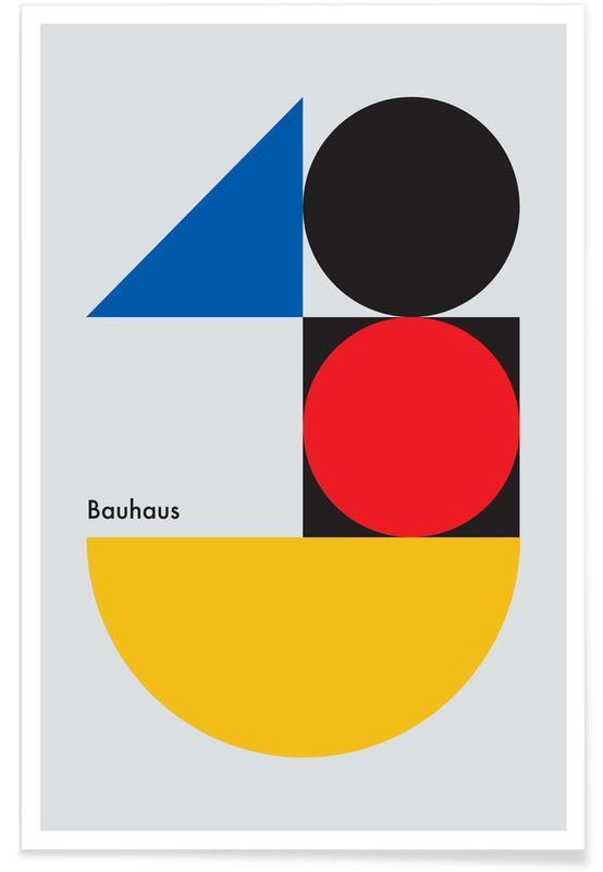 , Contrasts in 2D Plakat