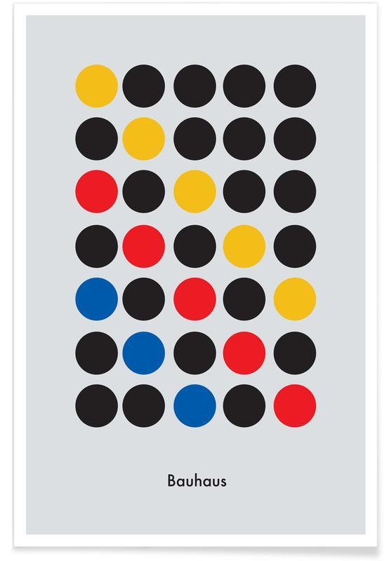 , Primary Pattern Plakat