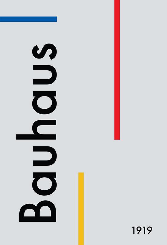 Bauhaus 1919 -Alubild
