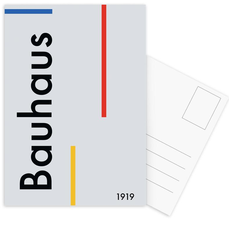 Bauhaus 1919 Postcard Set