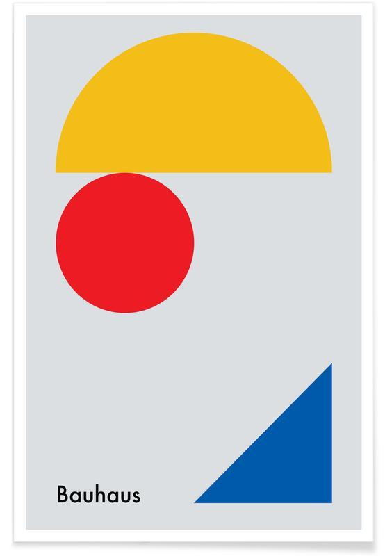 Bauhaus, Minimalism Plakat