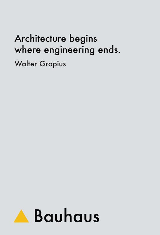 Gropius - Architecture Aluminium Print