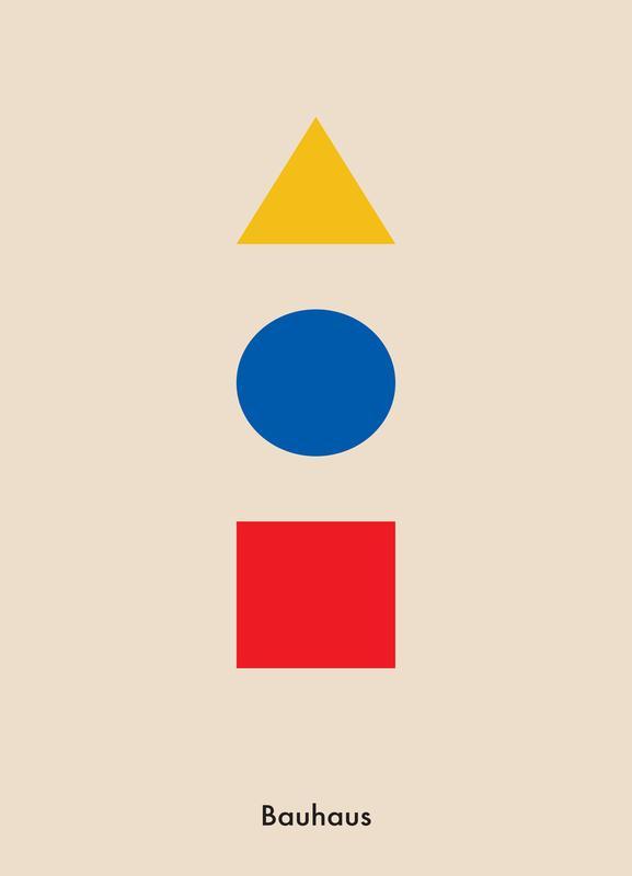 Primary Polygons Canvastavla