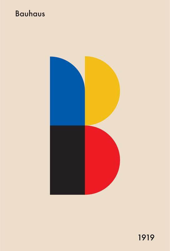 B for Bauhaus Acrylic Print