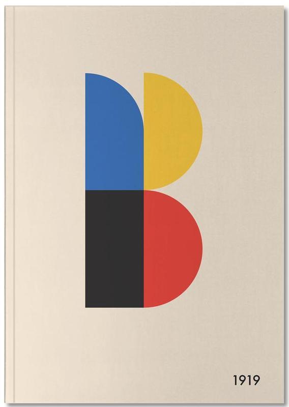 , B for Bauhaus Notebook