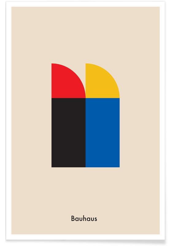Bauhaus, Bauhaus Archive, Berlin Icons poster