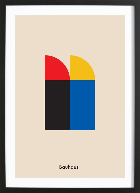 Bauhaus Archive, Berlin Icons Poster i träram