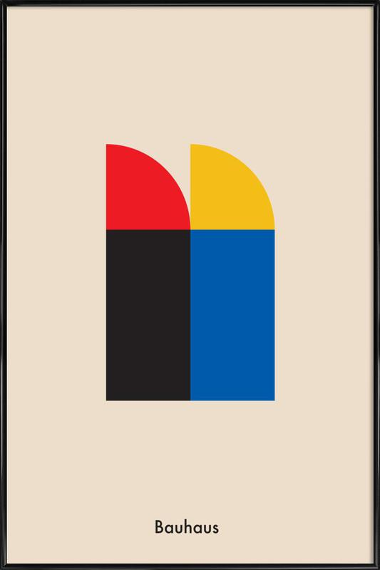 Bauhaus Archive, Berlin Icons Framed Poster