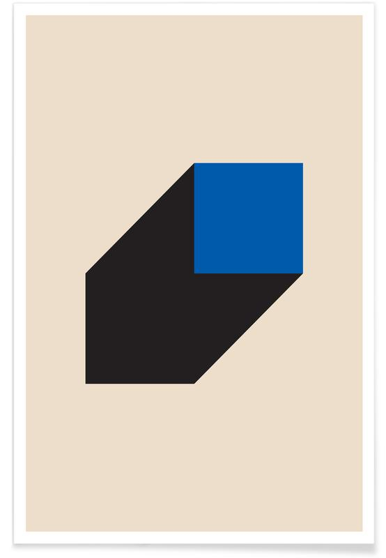 , Geometric Projection Plakat