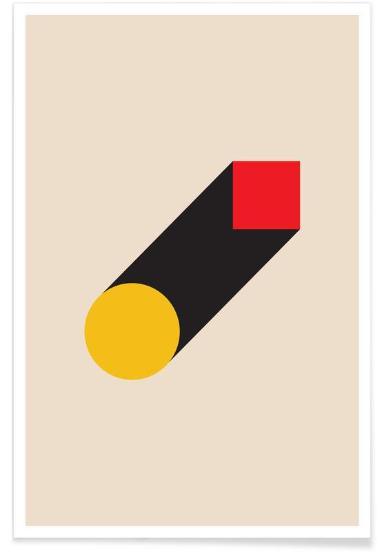 , Geometric Illusion Plakat