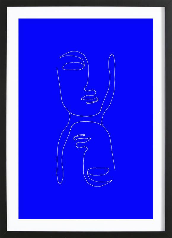 Entity by Daniella Salamon Poster i träram