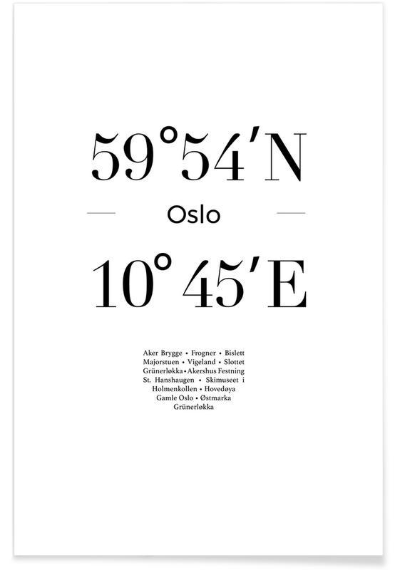 Sort & hvidt, Helsinki Plakat