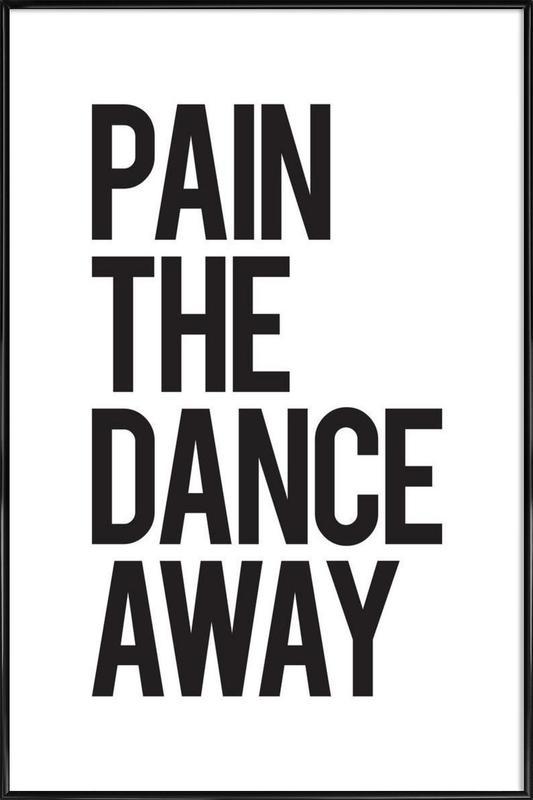 Pain Poster i standardram