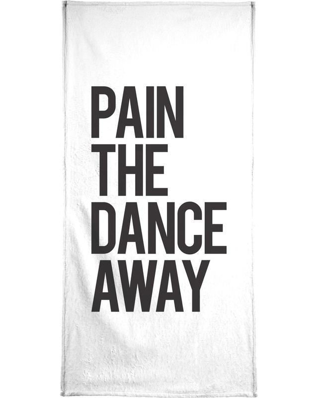 Schwarz & Weiß, Zitate & Slogans, Pain -Handtuch