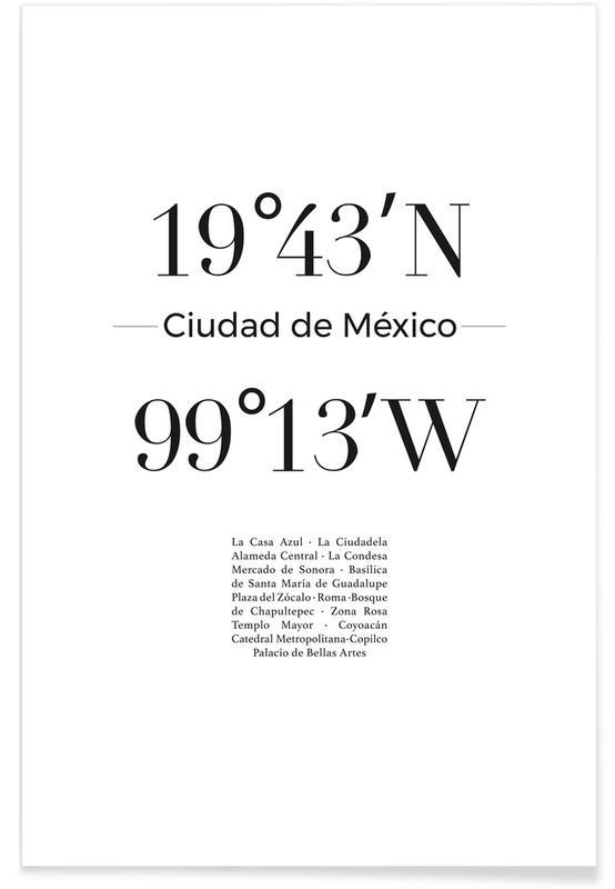 Ciudad de México Poster