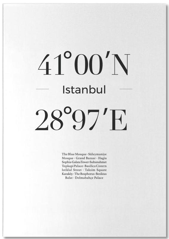 Istanbul, Noir & blanc, Voyages, Istanbul bloc-notes