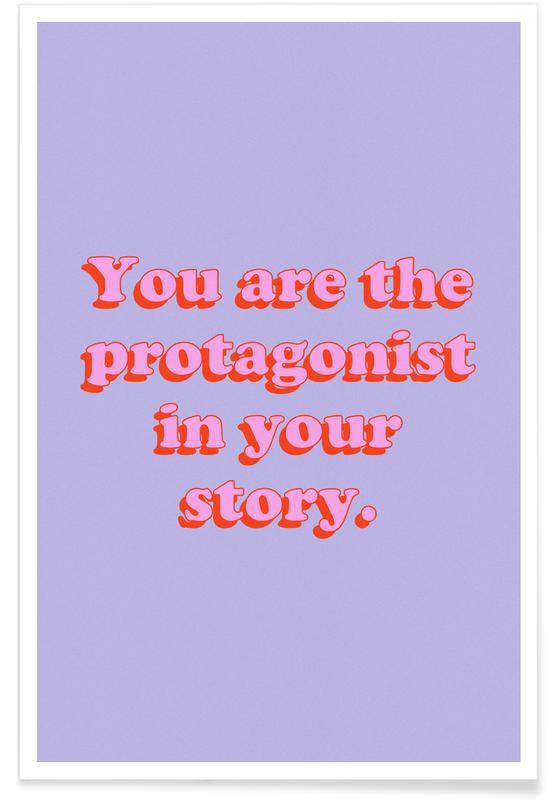 Motivation, You Are The Protagonist affiche