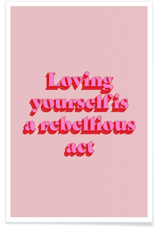 Motivation, Love Is Rebellious affiche