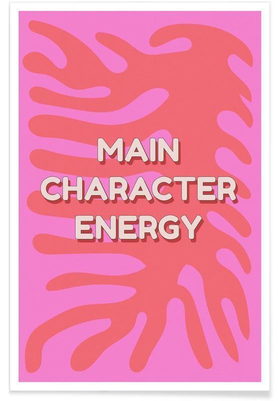 Motivation, Main Character Energy affiche
