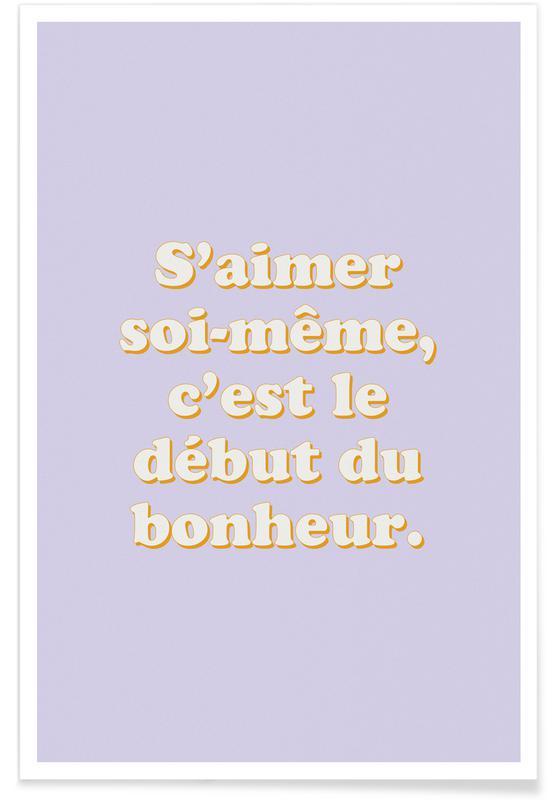 Motivational, Le secret du bonheur Poster