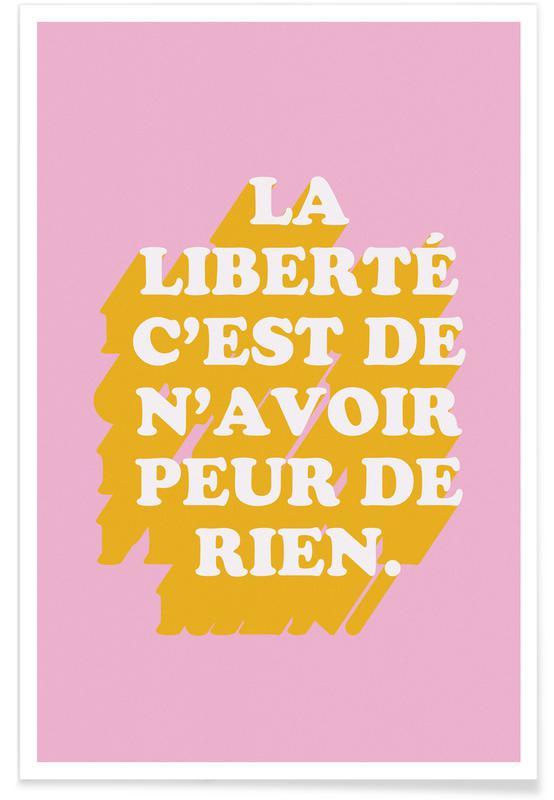 Motivational, La liberté Poster